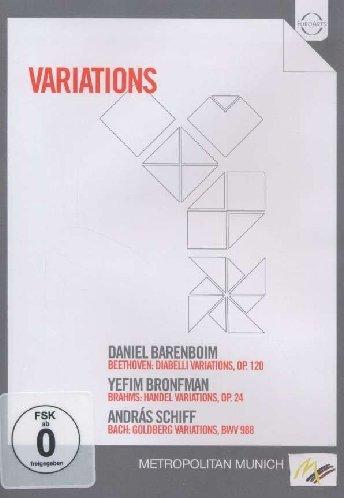 Variations (Beethoven: Diabelli Variations, Op. 120 / Brahms: Handel Variations, Op. 24 / Bach: Goldberg Variations BWV 988)