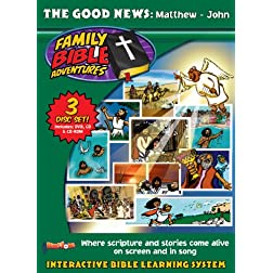 Family Bible Adventures: The Good News [Interactive DVD]