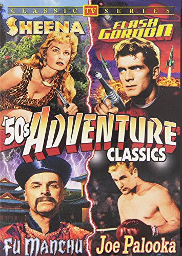 Action Shows of the 1950s (Alarm / Assignment Mexico / Beach Patrol / Captain Fathom / Counterspy / Flash Gordon / Front Page Detective / Fu Manchu / Here Comes Tobor / Joe Palooka / Sea Divers / Sea Hunt / Sheena) (3-DVD)