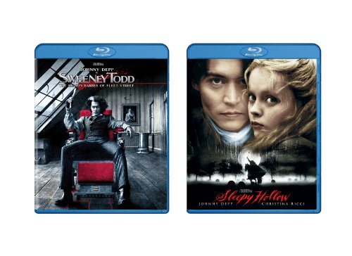 Sweeney Todd / Sleepy Hollow (Two-Pack) [Blu-ray]
