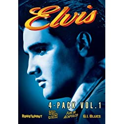 Elvis Four-Movie Collection: Volume One (Roustabout / Girls Girls Girls / Fun In Acapulco / G.I. Blues)