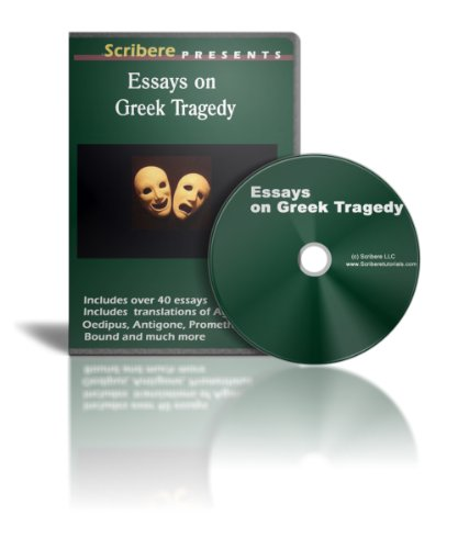 Essays on Greek Tragedy