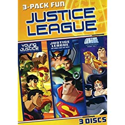 Justice League 3-Pack Fun