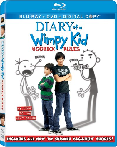 Diary of a Wimpy Kid: Rodrick Rules (Blu-ray/DVD Combo + Digital Copy)