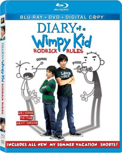 Diary of a Wimpy Kid: Rodrick Rules (Blu-ray/DVD Combo + Digital Copy)