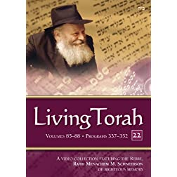 Living Torah Programs 337-352 Binder 22