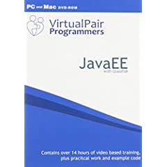 JavaEE with Glassfish Video based training for PC or Mac by Virtualpairprogrammers.com