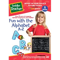 Toddler Teacher Fun with the Alphabet A-Z