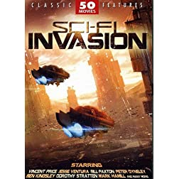 Sci-Fi Invasion - 50 Movie Set