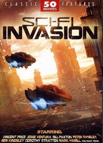 Sci-Fi Invasion - 50 Movie Set