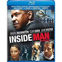 Inside Man [Blu-ray/DVD Combo + Digital Copy]