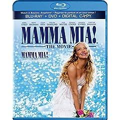 Mamma Mia! The Movie [Blu-ray/DVD Combo + Digital Copy]