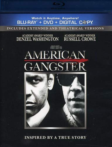 American Gangster [Blu-ray/DVD Combo + Digital Copy]