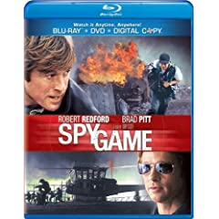 Spy Game [Blu-ray/DVD Combo + Digital Copy]