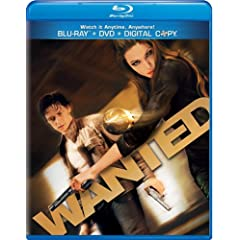 Wanted [Blu-ray/DVD Combo + Digital Copy]