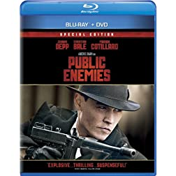 Public Enemies [Blu-ray/DVD Combo + Digital Copy]