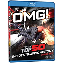 OMG! The Top 50 Incidents in WWE History [Blu-ray]
