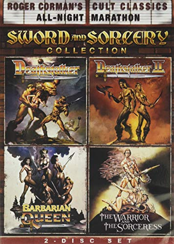 Roger Corman's Cult Classics Sword And Sorcery Collection (Deathstalker, Deathstalker II, The Warrior And The Sorceress & Barbarian Queen)
