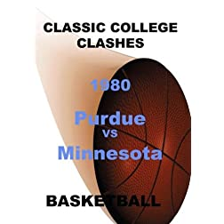 1980 Purdue vs Minnesota - Basketball