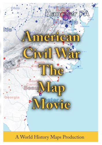 American Civil War The Map Movie