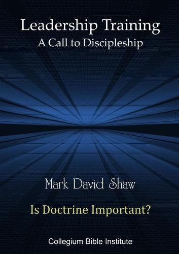 D-36-09 Is Doctrine Important?
