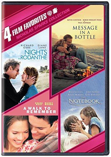 4 Film Favorites: Nicholas Sparks Romances