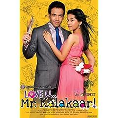 Love U...Mr. Kalakaar! (2011) (Romantic Hindi Film / Bollywood Movie / Indian Cinema DVD)
