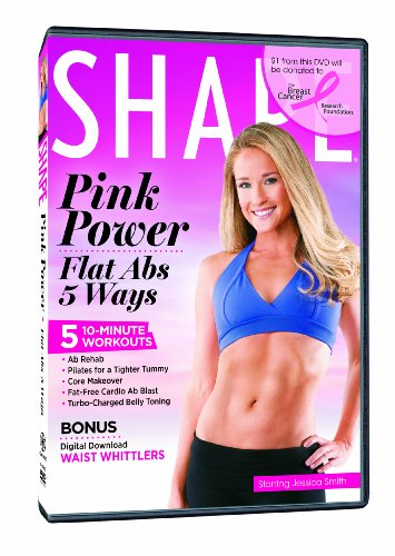 Pink Power: Flat Abs 5 Ways
