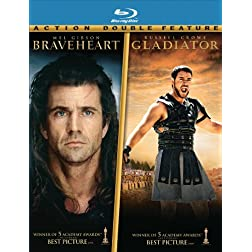 Braveheart / Gladiator (Two-Pack) [Blu-ray]