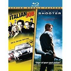 Shooter / Italian Job 2-pack [Blu-ray]