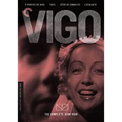 The Complete Jean Vigo ( propos de Nice / Taris / Zro de conduite / L'Atalante) (The Criterion Collection)