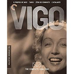 The Complete Jean Vigo (A propos de Nice / Taris / Zero de conduite / L'atalante) (The Criterion Collection) [Blu-ray]