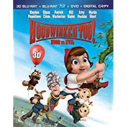 Hoodwinked Too! Hood vs. Evil [Four-Disc Combo: Blu-ray 3D/Blu-ray/DVD/Digital Copy]