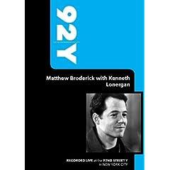 92Y- Matthew Broderick with Kenneth Lonergan (September 30, 2009)