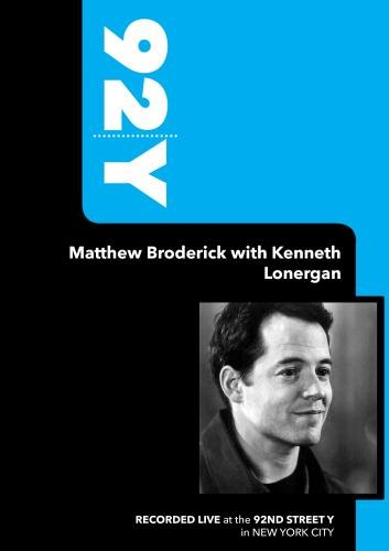 92Y- Matthew Broderick with Kenneth Lonergan (September 30, 2009)