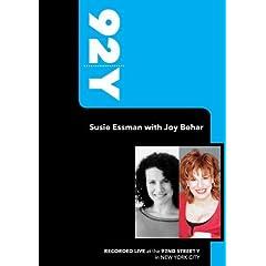 92Y- Susie Essman with Joy Behar (October 25, 2009)