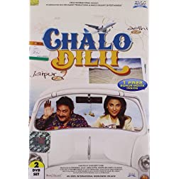 Chalo Dilli Bollywood DVD With English Subtitles (2 Disc Set)