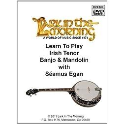Learn to Play Irish Tenor Banjo & Mandolin DVD