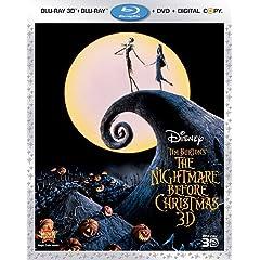 The Nightmare Before Christmas (Three-Disc Combo: Blu-ray 3D / Blu-ray / DVD / Dital Copy)