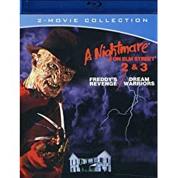 A Nightmare on Elm Street 2 & 3 [Blu-ray]