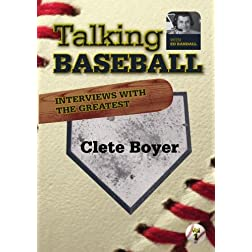 Talking Baseball with Ed Randall - New York Yankees -  Clete Boyer Vol. 1