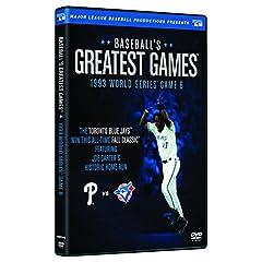 Baseballs Greatest Games-1993 World Series Game 6