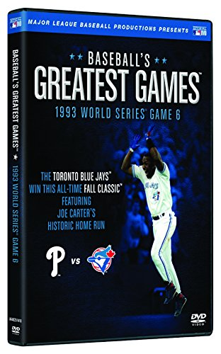 Baseballs Greatest Games: 1993 World Series Game 6