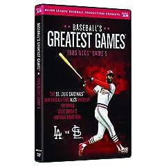Baseballs Greatest Games-1985 Nlcs Game 5