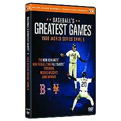 Baseballs Greatest Games-1986 World Series Game 6