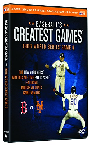 Baseballs Greatest Games: 1986 World Series Game 6
