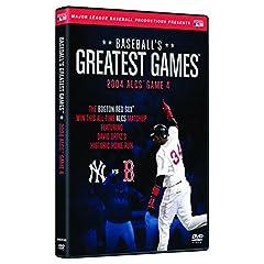 Baseballs Greatest Games-2004 Alcs Game 4