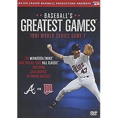 Baseballs Greatest Games-1991 World Series Game 7