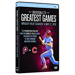 Baseballs Greatest Games: 1979 Wrigley Field Slugfest