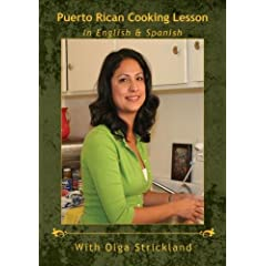 Puerto Rican Cooking Lesson in English & Spanish